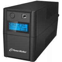 POWERWALKER UPS VI-850 SHL LCD(PS) (10120096) 850 VA Line Interactive with LCD